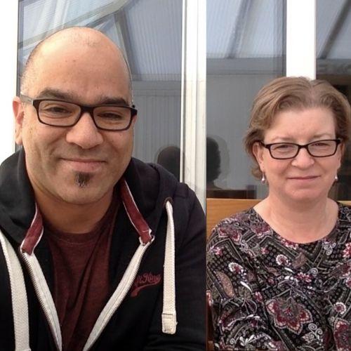 Vernon and Yvonne Martin